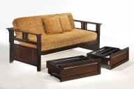 Teddy R Daybed w N&D Daybed Extension Sliding Down CHO & BL
