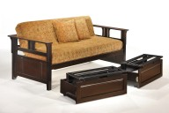 Teddy R Daybed w N&D Daybed Extension Sliding Up CHO & BL