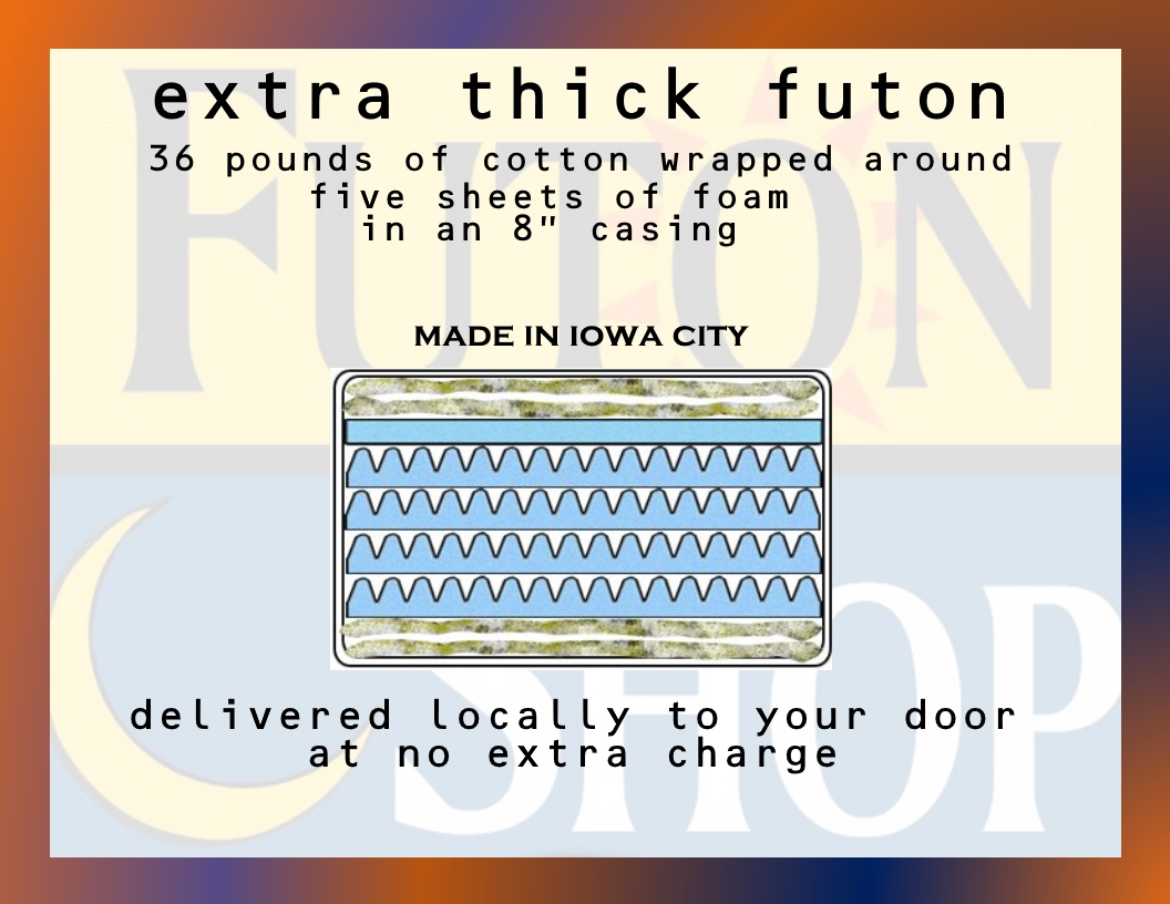 Extra Thick Futon Mattress