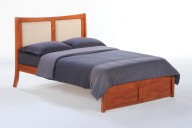Chameleon Bed Full Cherry