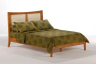 Chameleon Bed Full Medium Oak