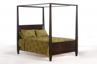 Laurel Bed Queen Dark Chocolate