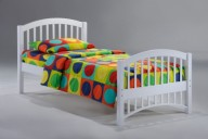 Molasses Bed Twin White