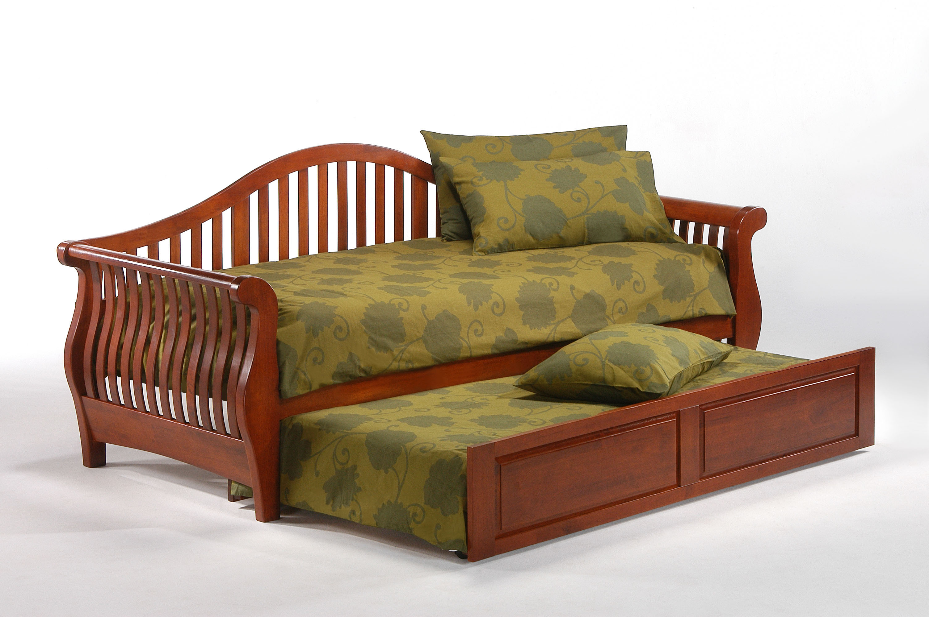 nightfall daybed w trundle open nightfall daybed frame   iowa city futon shop  rh   iowacityfutons
